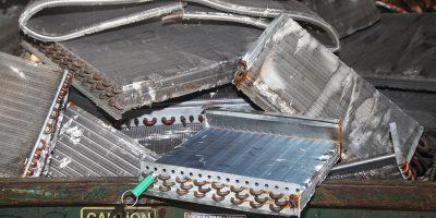 aluminium copper radiator